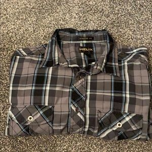MAKE OFFERS! Helix men's button down